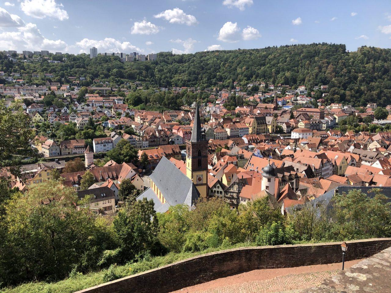 View of Wertheim from Wertheim Castle