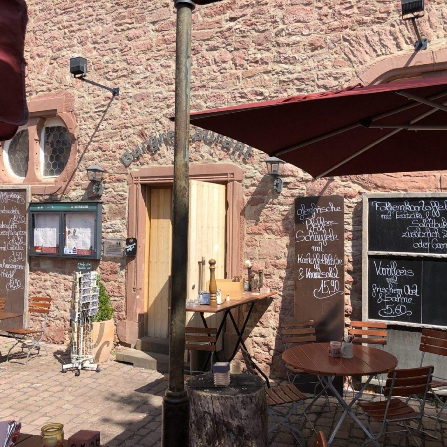Burg Wertheim Restaurant, Wertheim Castle Restaurant