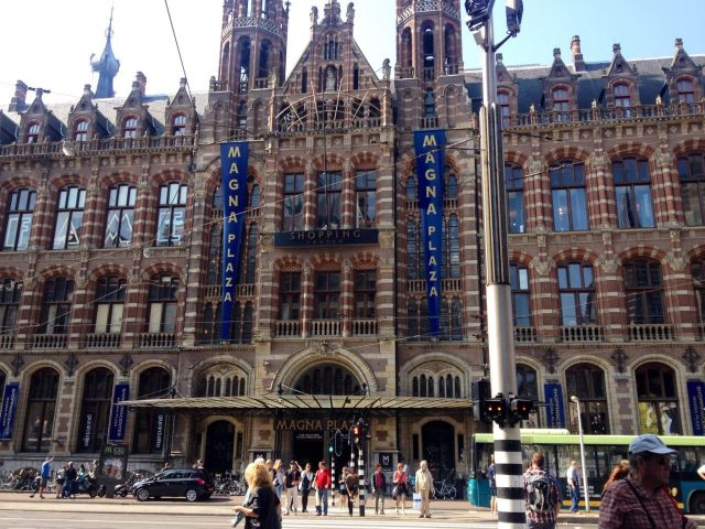 Former Post office Amsterdam