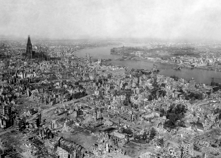 Bombed-out Cologne