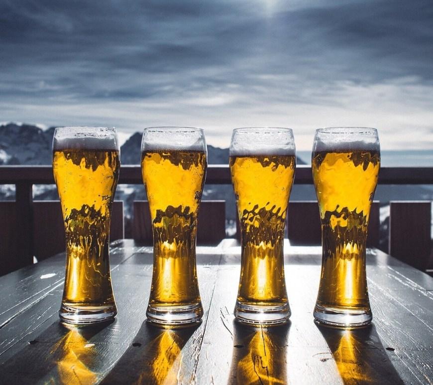 German Bier glasses