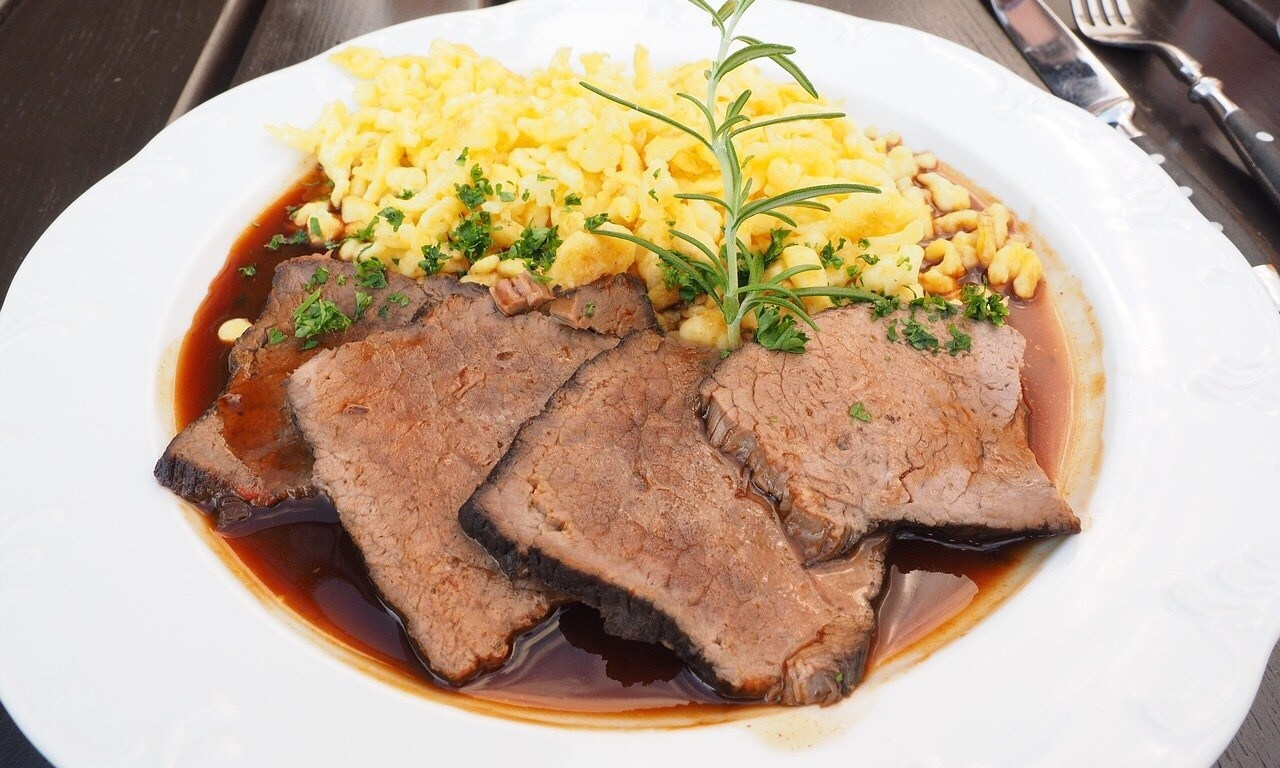 German Beef roast, Rindsbraten