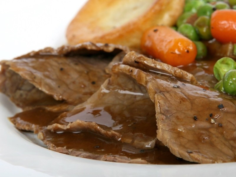 Rinderbraten, German Beef roast