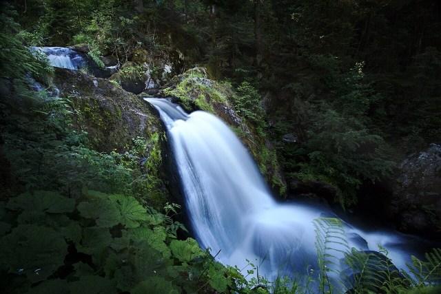Triberg waterfall, wasserfall