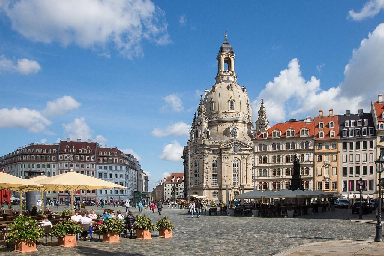 Neumarkt with Frauenkirche, Dresden
