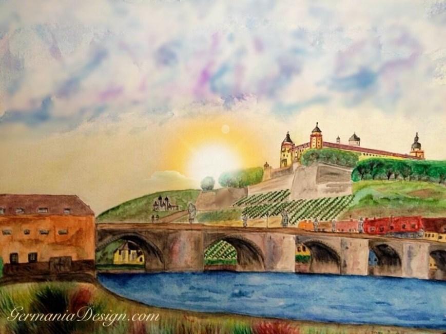 Würzburg painting GermaniaDesign.com