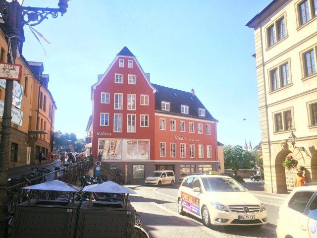 Wuerzburg at the Alte Mainbruecke