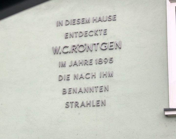 Dr. Roentgen haus Wuerzburg