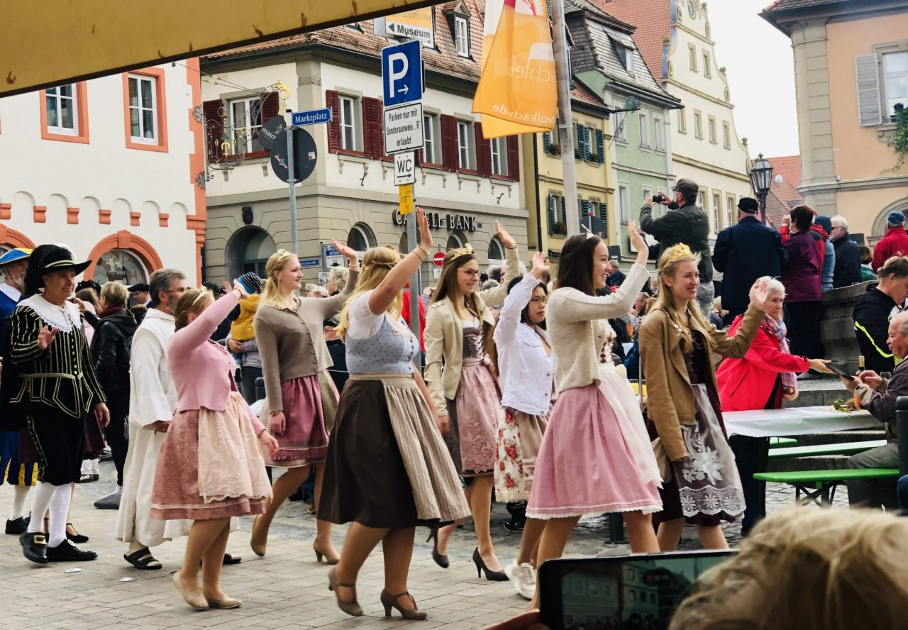 Franconia wine princesses