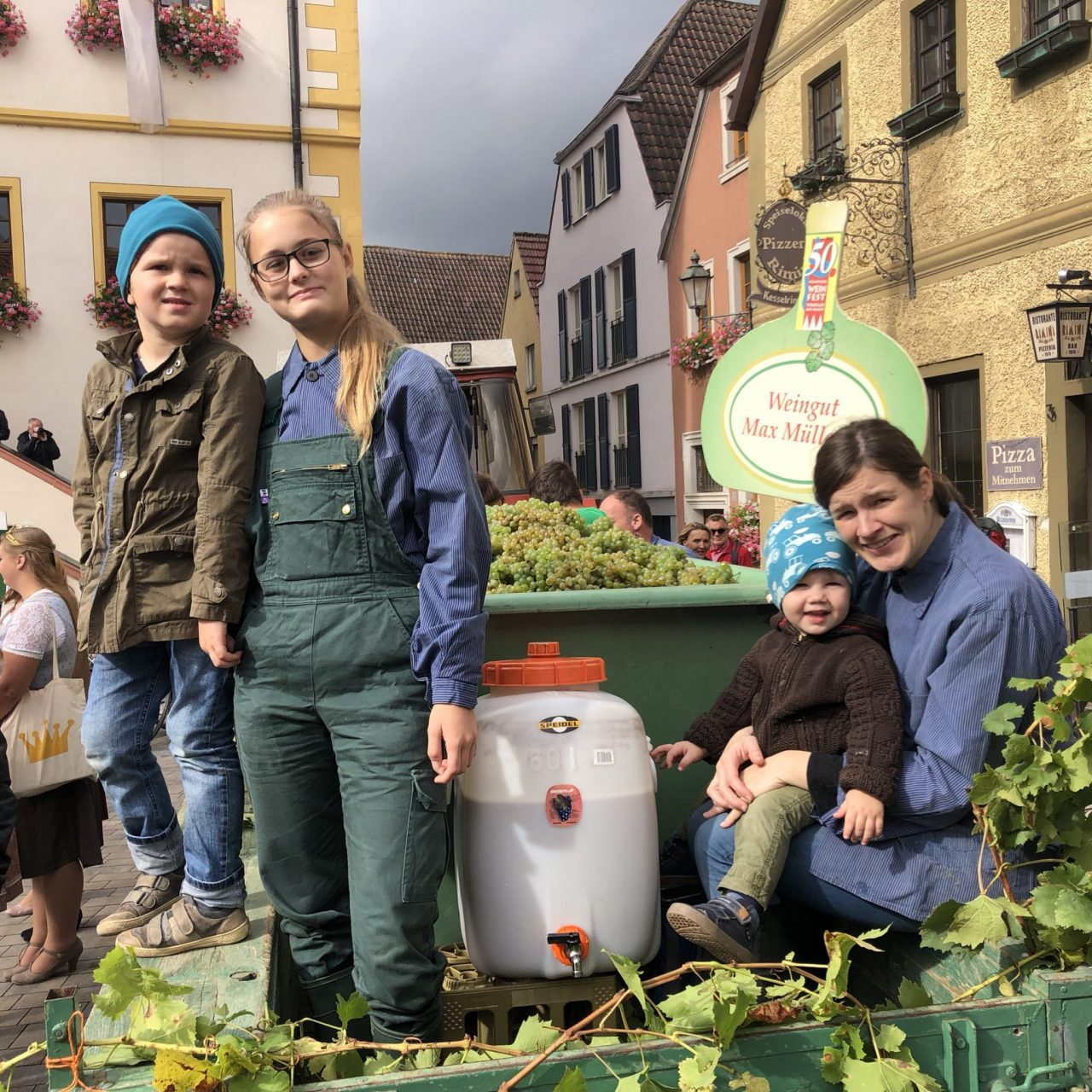 Vintners in Volkach