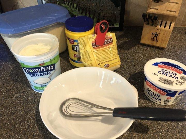 Topfenknoedel ingredients