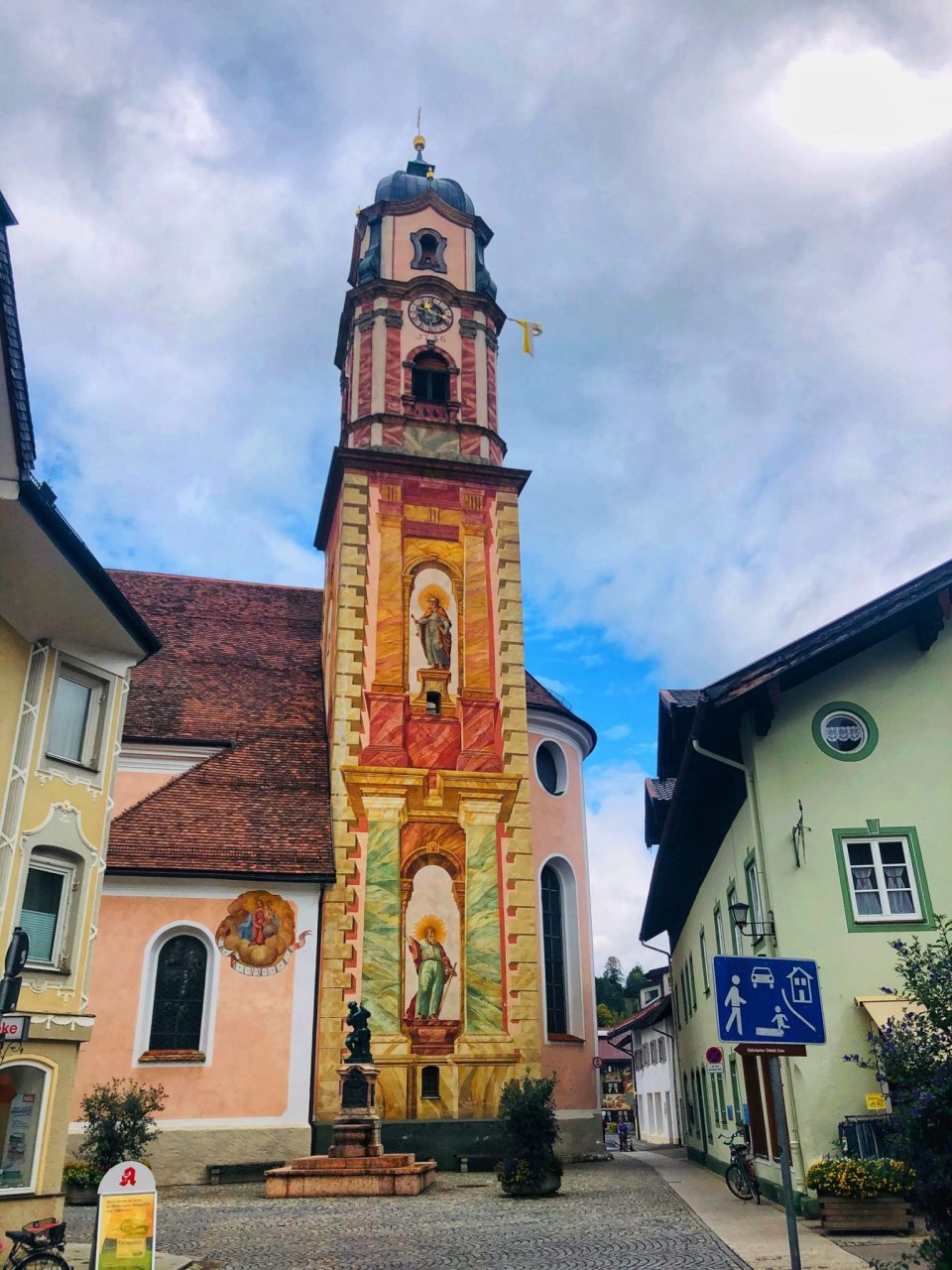 Church of Saint Peter and Paul, Mittenwald