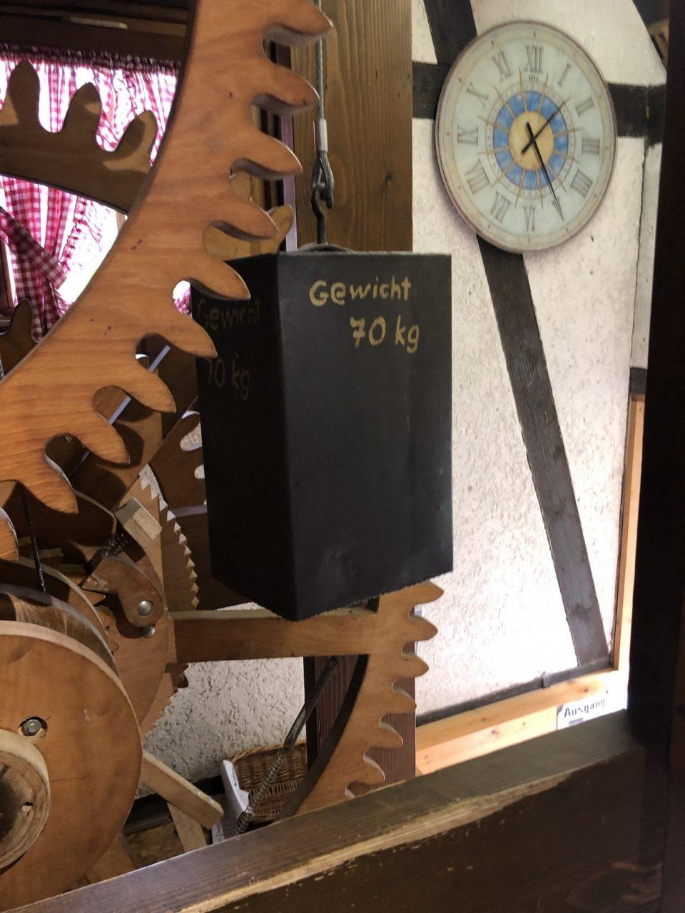Mechanism of cuckoo clock