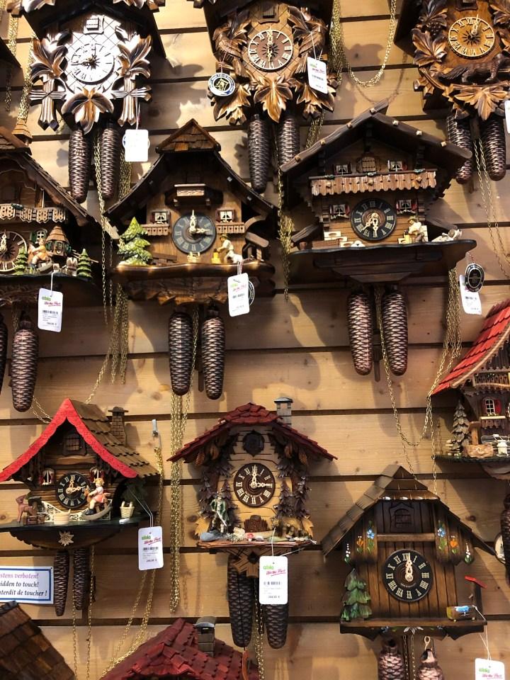 cuckoo clock Triberg, Black Forest