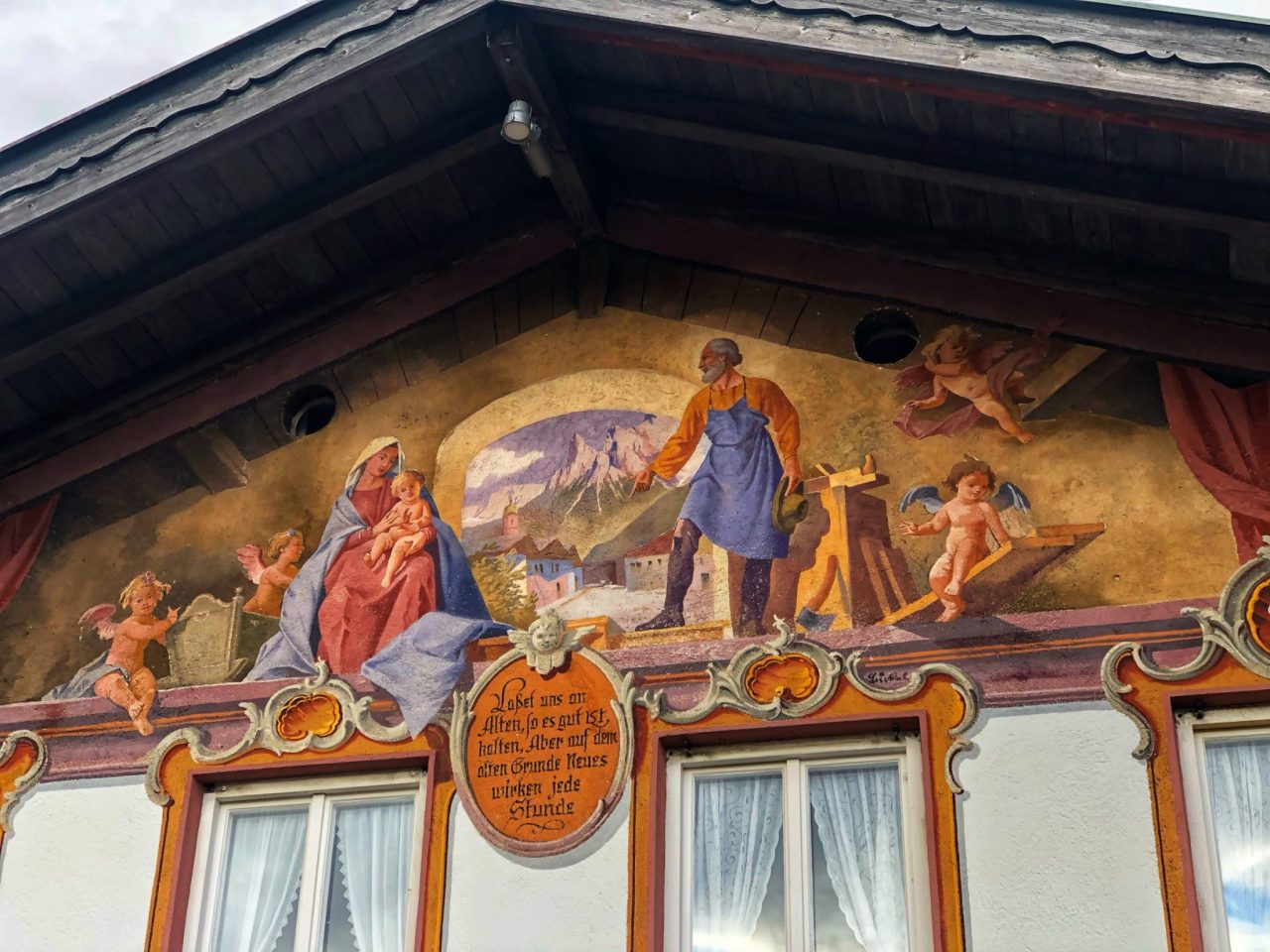 Mittenwald Facade Paintings