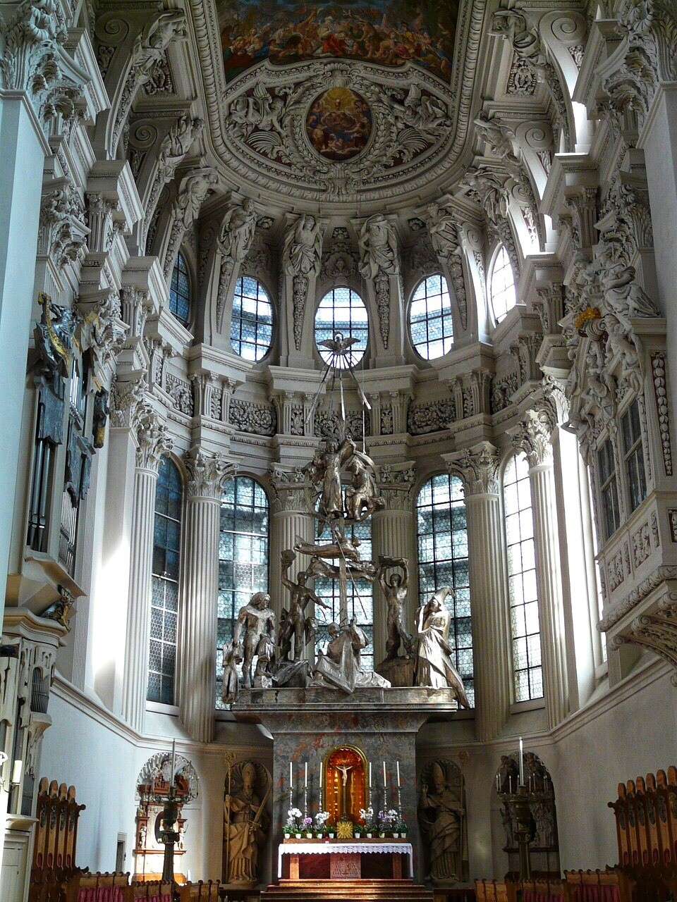 Stephansdom Cathedral cupola Passau
