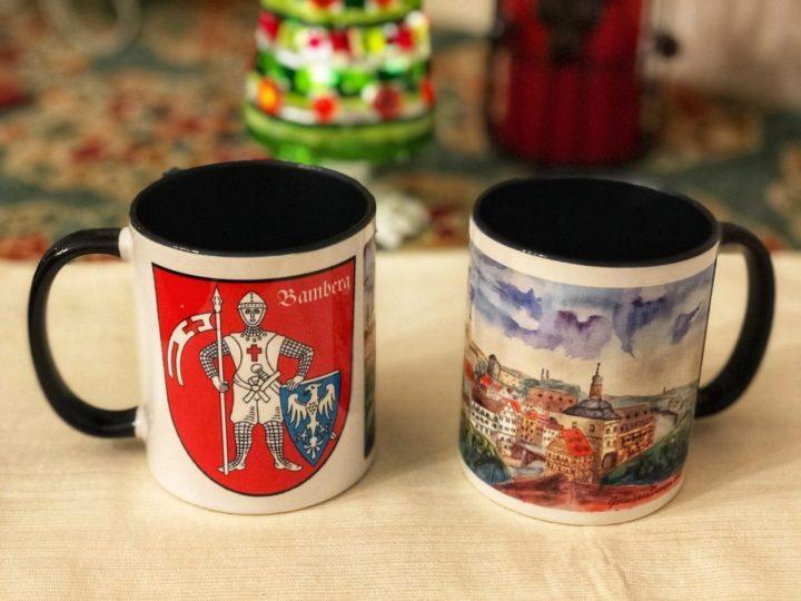 Bamberg Watercolor Mugs GermaniaDesign.com