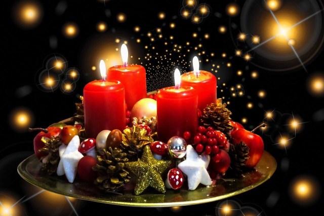 Adventskranz, Advent Christmas wreath