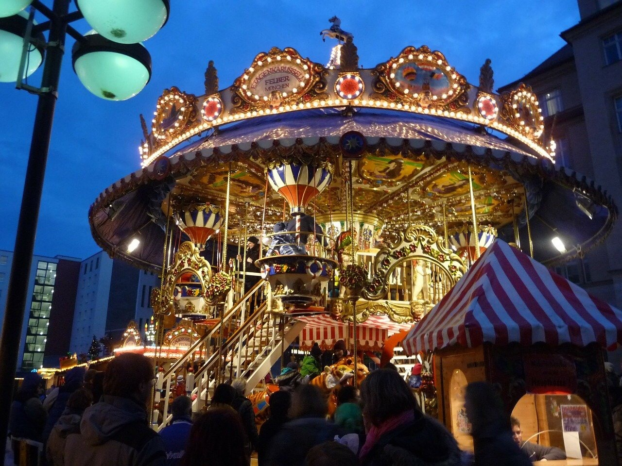 German Christmas Carousel