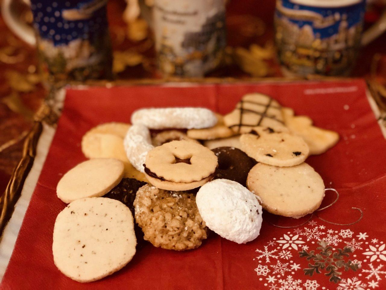 Christmas cookies, Weihnachtsplätzchen