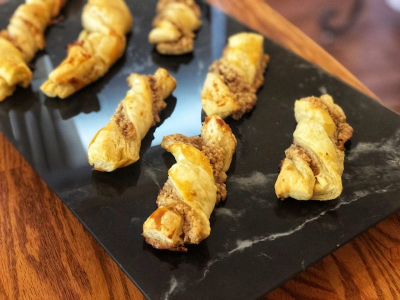 Nuss Stangen, Nutty Sticks with Walnuts