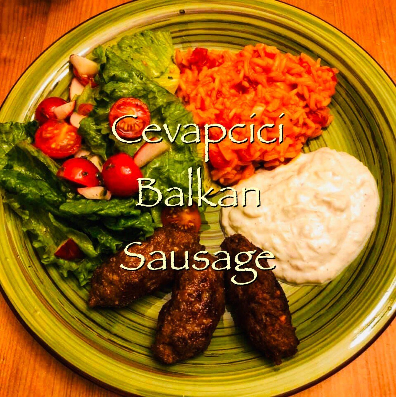 Cevapcici, a Balkan sausage