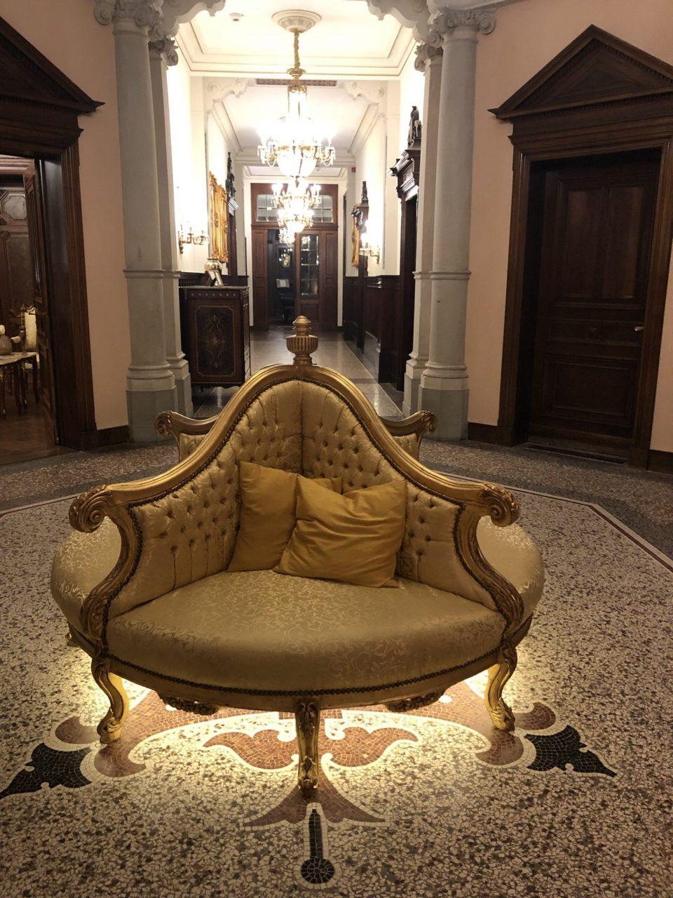 Lieser Castle Hotel interior
