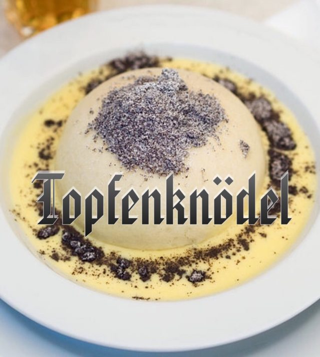 Topfenknoedel, Austrian Dish