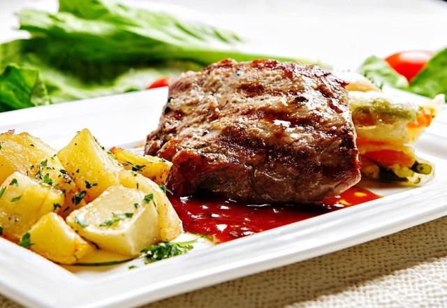 Tafelspitz, Beef and potatoes