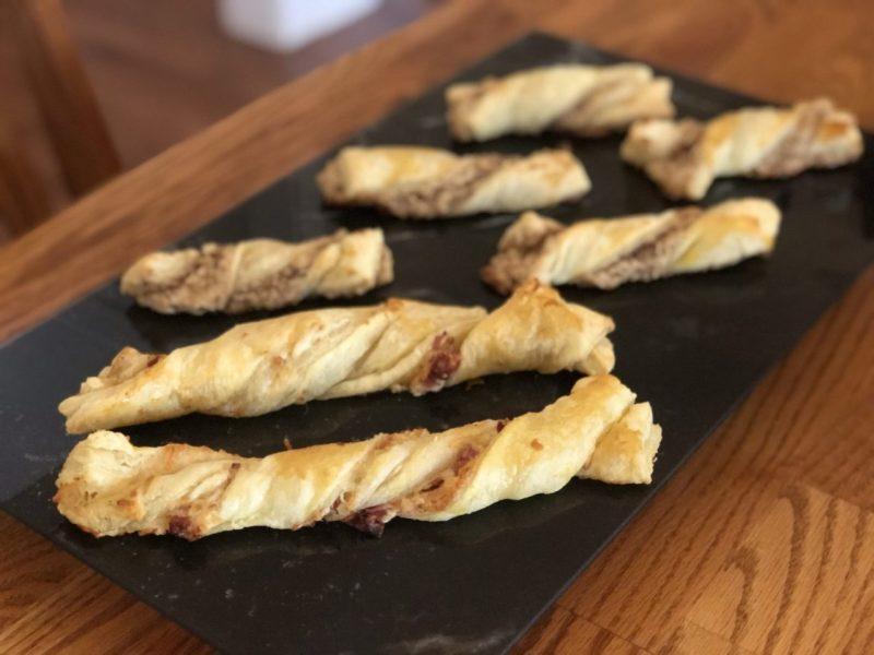 Käse-Schinken Stangen, Cheese sticks