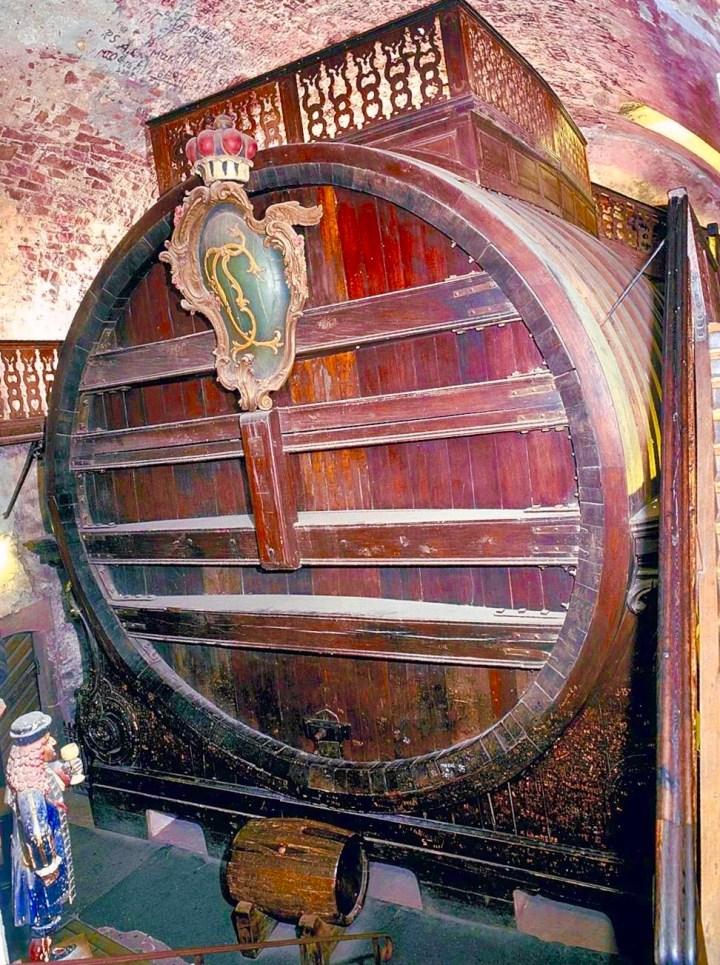 Grosses Heidelberger fass, barrell