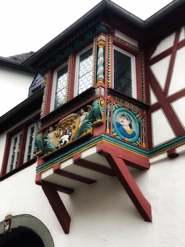 Limburg and der Lahn, window