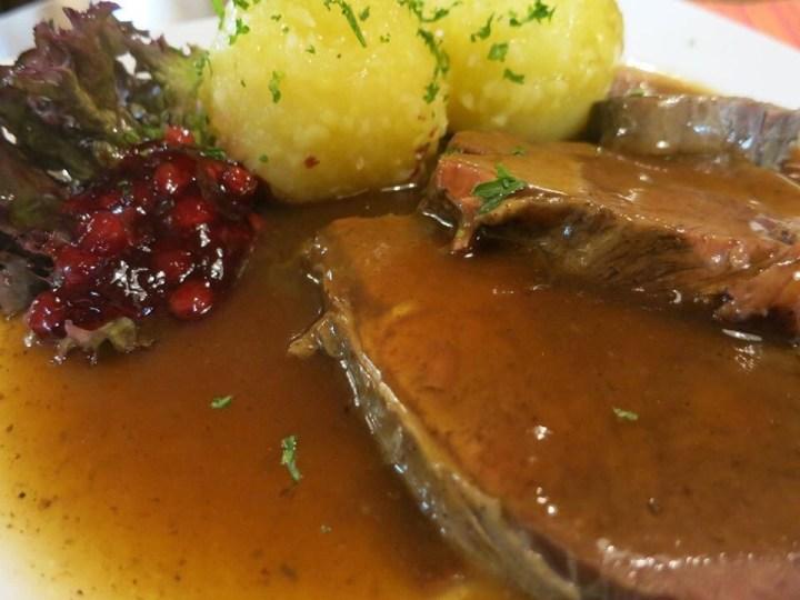 Sourbraten, Sauerbraten, Tangy beef roast