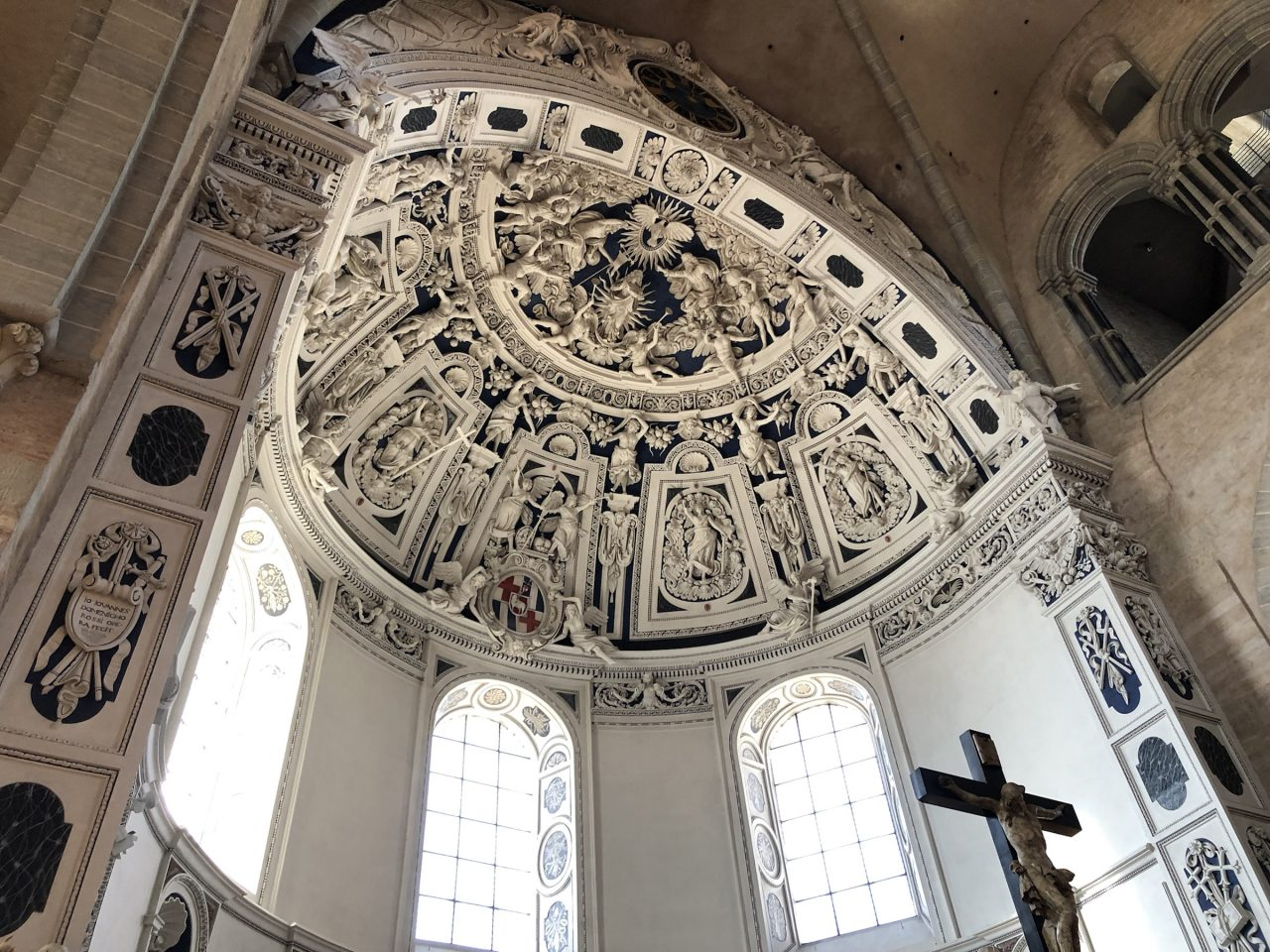 Cathedral of Trier ceiling