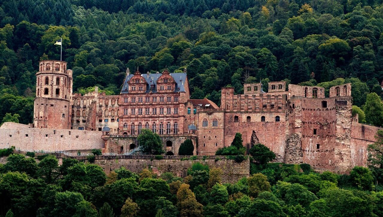 Heidelberg castle, Schloss HeidelbergHeidelberg