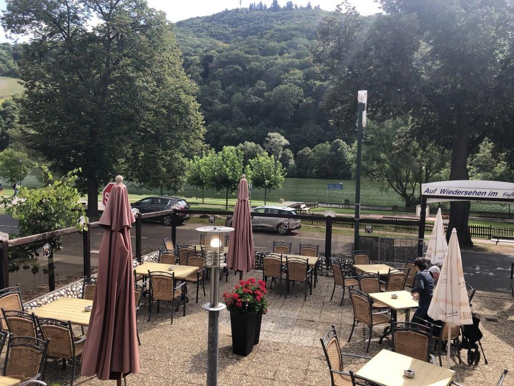 Cafe Rosi patio, Bernkastel-Kues