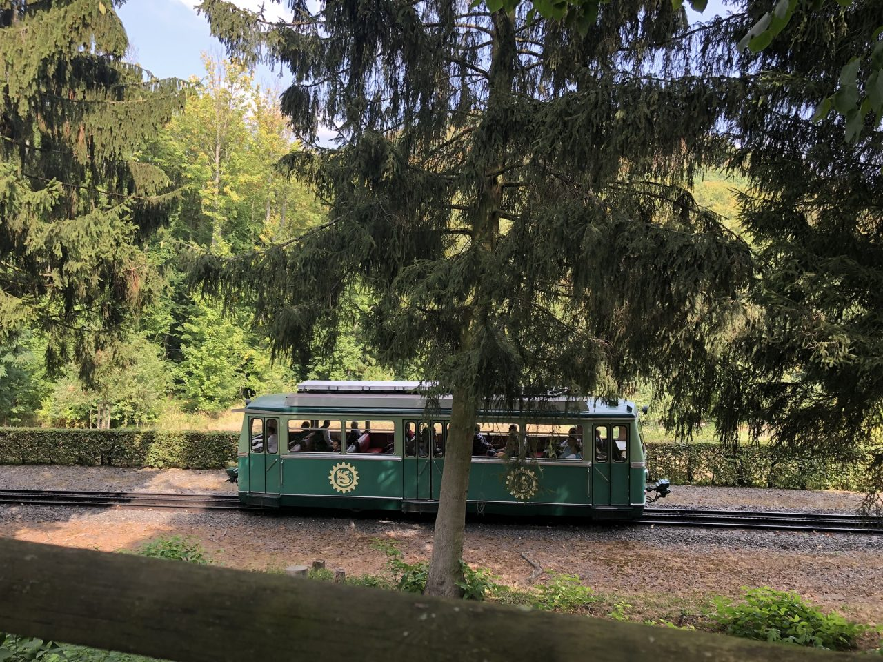 Trolley train Drachenburg Castle, Königswinter