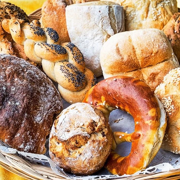 German pastries and rolls, german bread