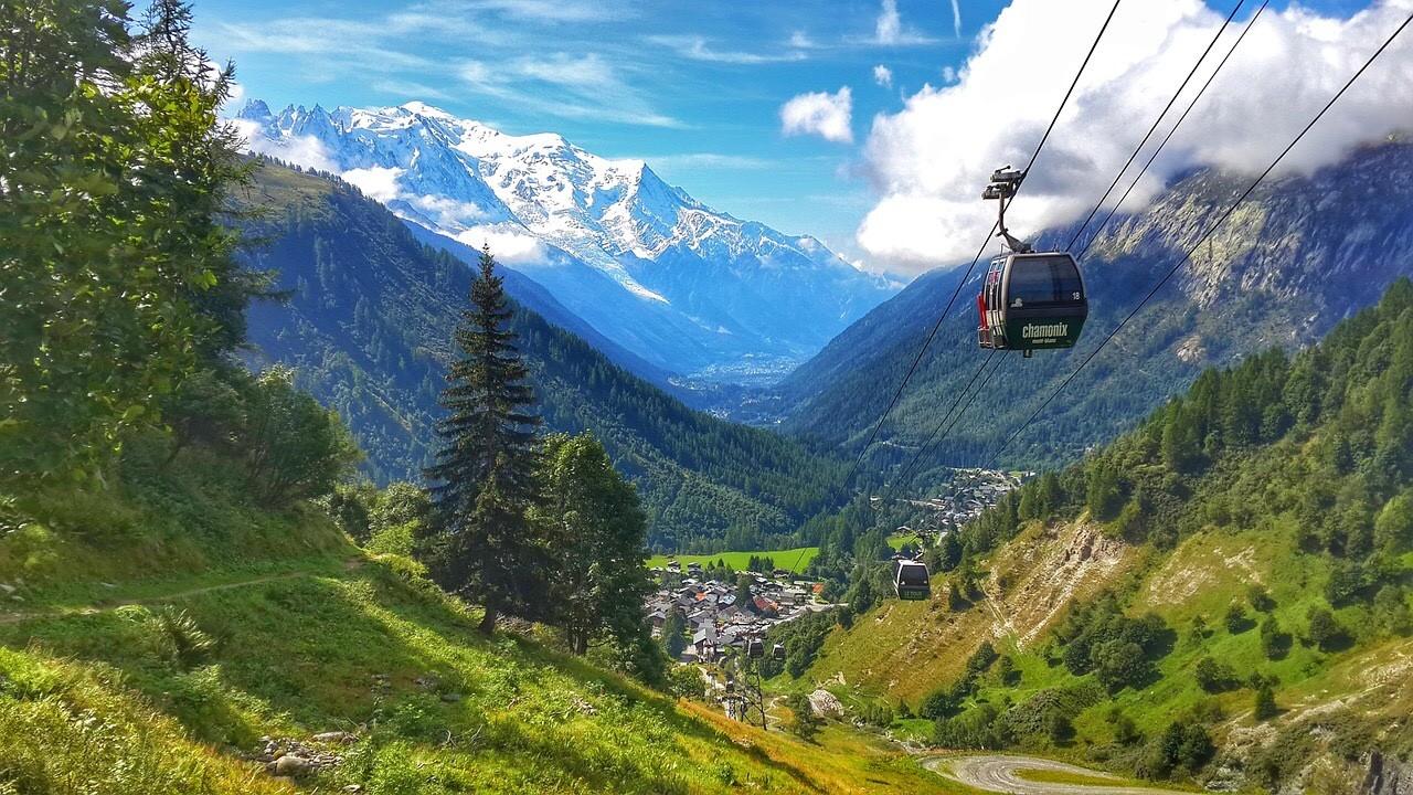 Chamonix-MontBlanc Gondola