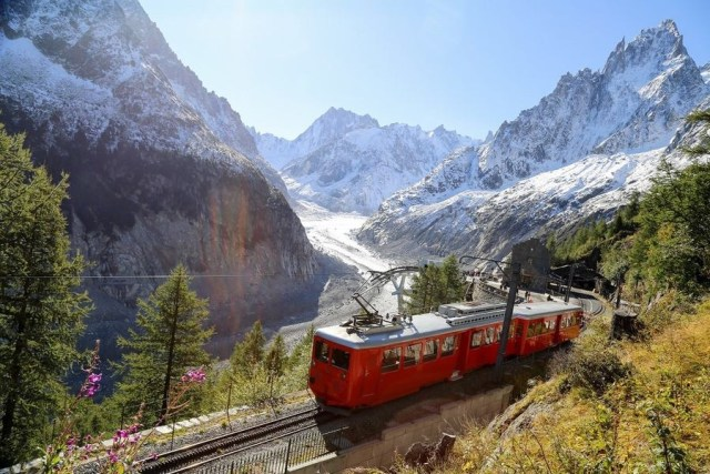 Chamonix-MontBlanc Glacier tain