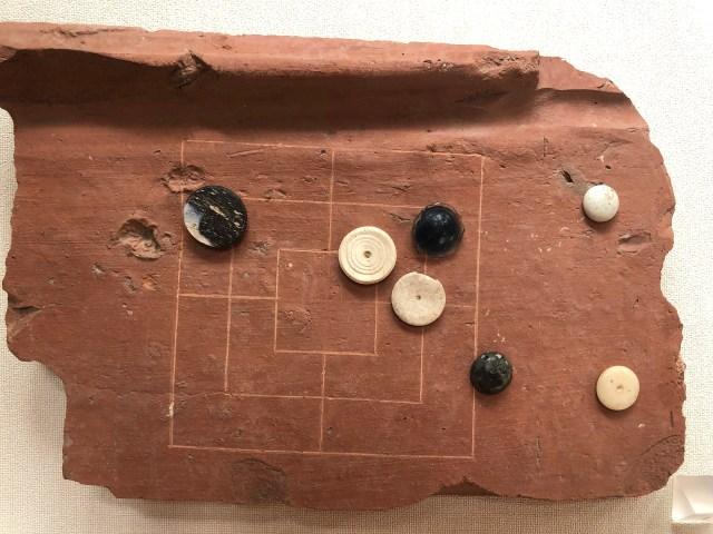 a Roman game, Roman villa in Ahrweiler, Römervilla
