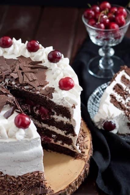 Black Forest Cake, Schwarzwälder Kirschtorte