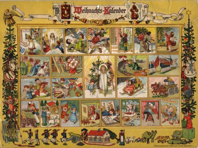 Elise Averdick Christmas Calendar 1851