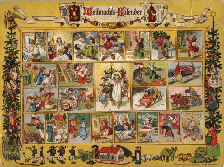 Elise Averdick Christmas Calendar 1851