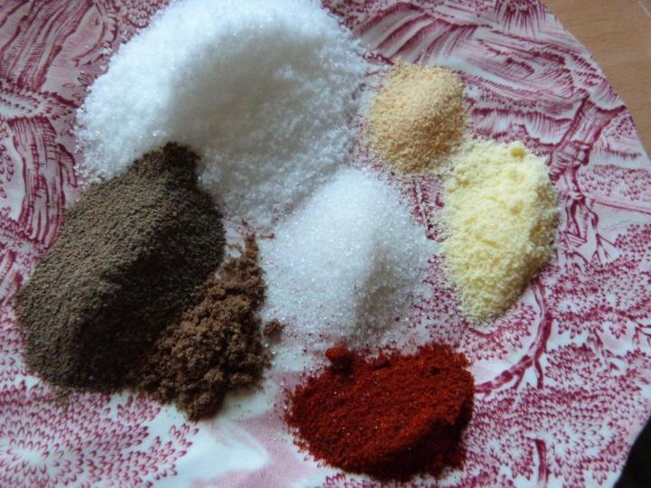 spices for Bratwurst