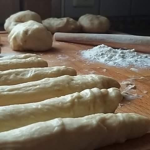 Eierweck, Yeast croissants dough