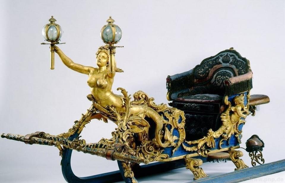 Ludwig II of Bavaria sleigh