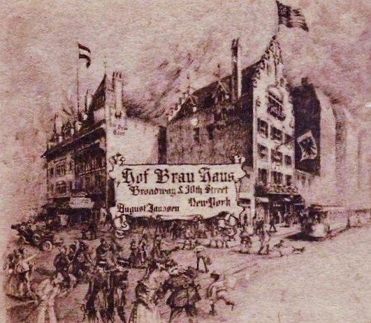 Hofbräuhaus 1908 New York