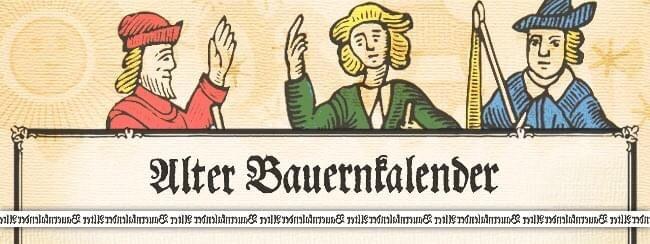 Bauernkalender, German Almanac