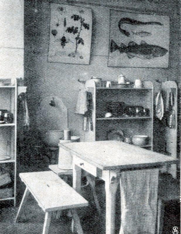 Haushaltsschule 1900's